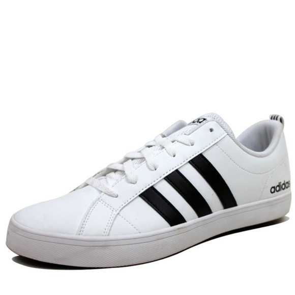 NWOT Adidas Neo Pace White & Black